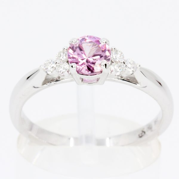 pink diamond ring collection