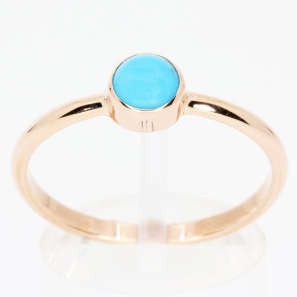 blue stone with diamond gold ring