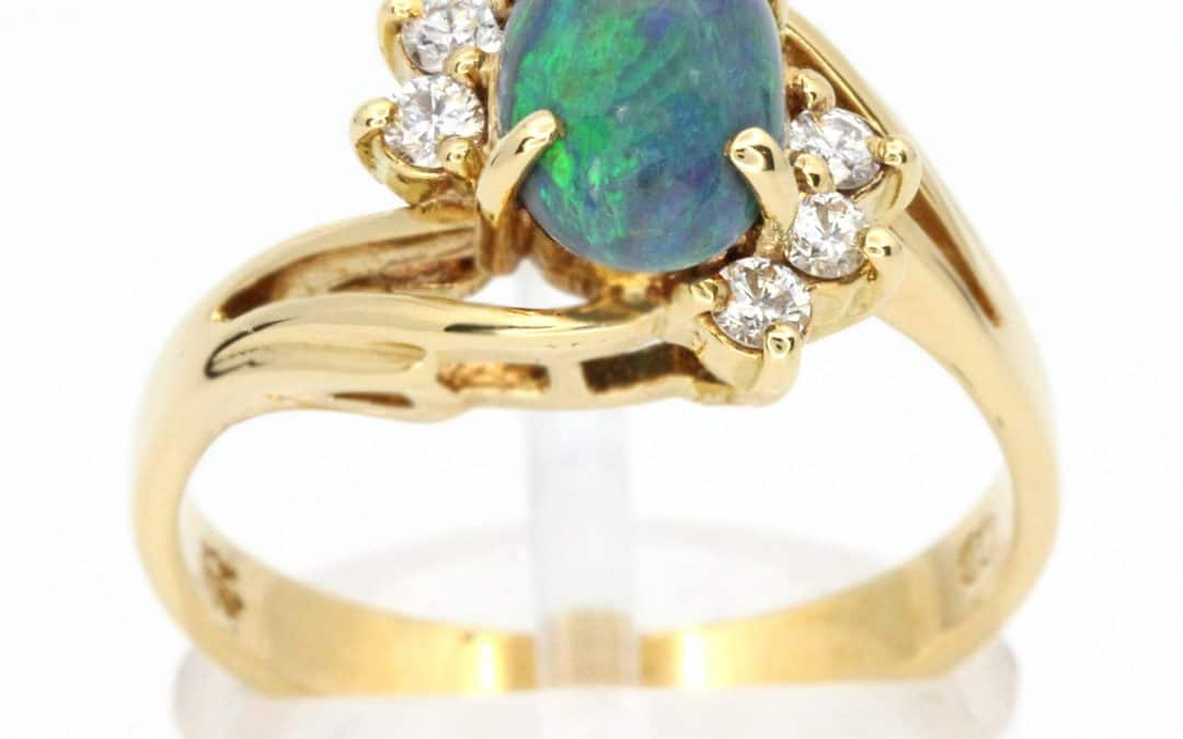 Birthstone of the Month – Opal & Tourmaline